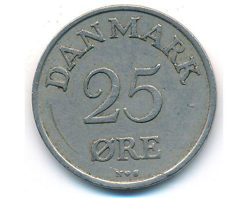 25 эре 1954 год Дания