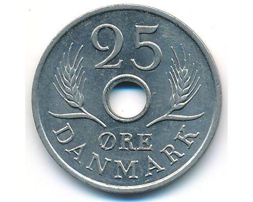 25 эре 1969 год Дания