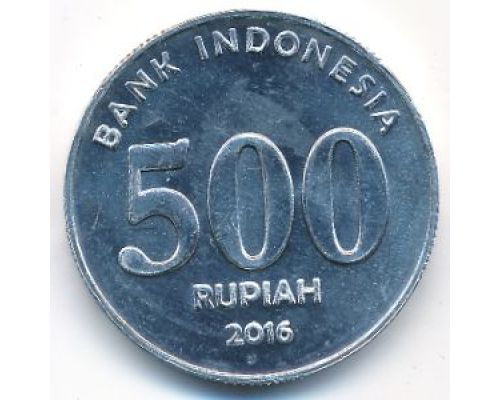 500 рупий 2016 год Индонезия