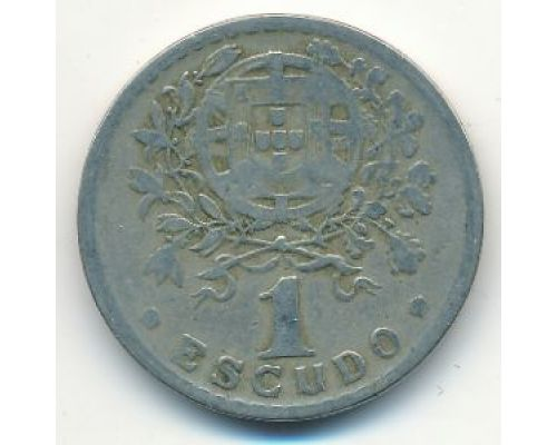 1 эскудо 1928 год Португалия