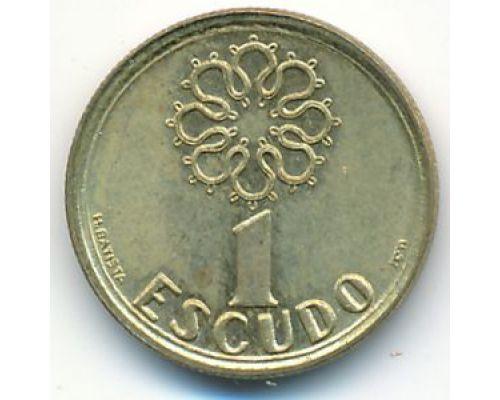 1 эскудо 1996 год Португалия