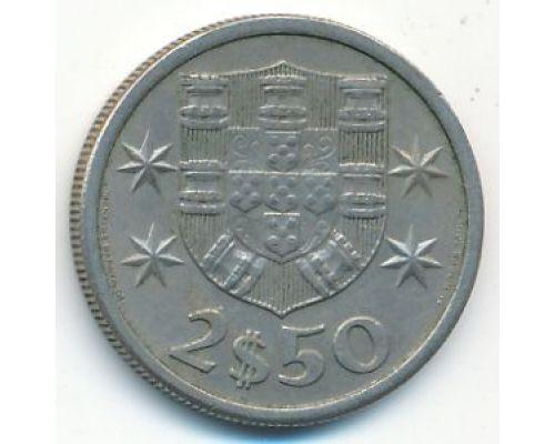 2,5 эскудо 1964 год Португалия