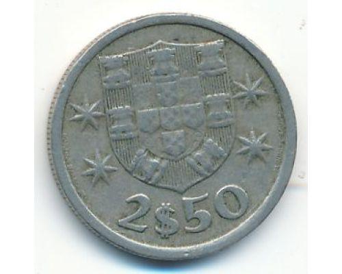 2,5 эскудо 1965 год Португалия