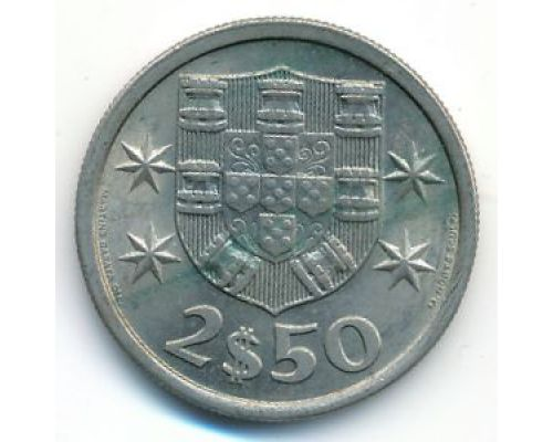 2,5 эскудо 1971 год Португалия