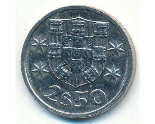 2,5 эскудо 1985 год Португалия