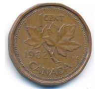 1 цент 1982 год Канада