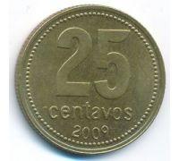 25 сентаво 2009 год Аргентина