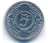 5 центов 2016 год Антильские острова