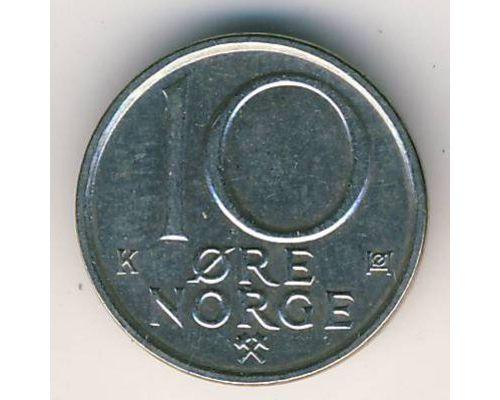 10 эре 1991 год Норвегия