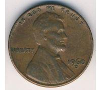 1 цент 1960 год D США