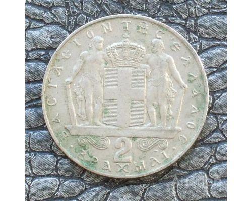 2 драхмы 1970 год Греция