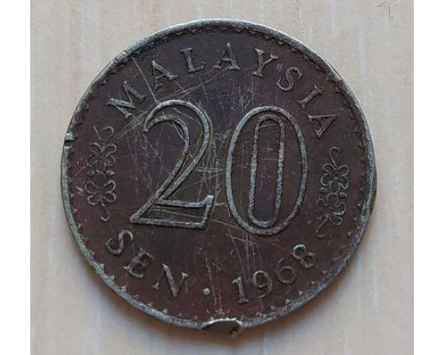 20 сен 1968 год Малайзия