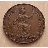 1 пенни 1945 год Великобритания (2)