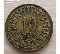 10 миллим 1960 год Тунис