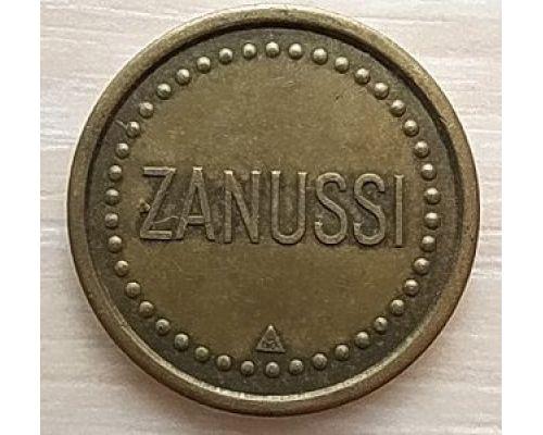 Жетон торговый фирменный рекламный Zanussi