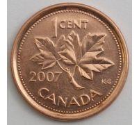 1 цент 2007 год Канада