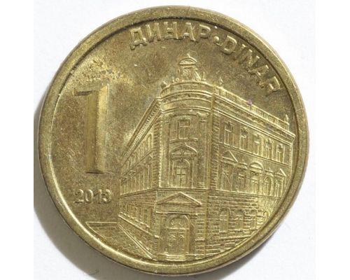1 динар 2013 год Сербия