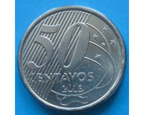 50 сентаво 2013 год Бразилия