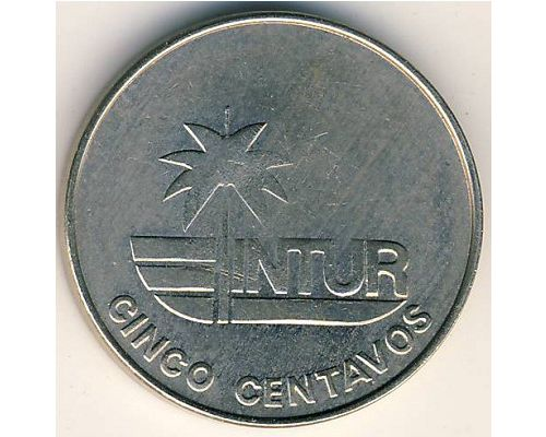 5 сентаво 1981 год Куба (без арабской цифры номинала)