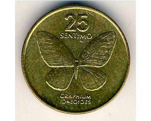 25 сентимо 1991 год Филиппины