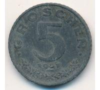 5 грошей 1951 год Австрия