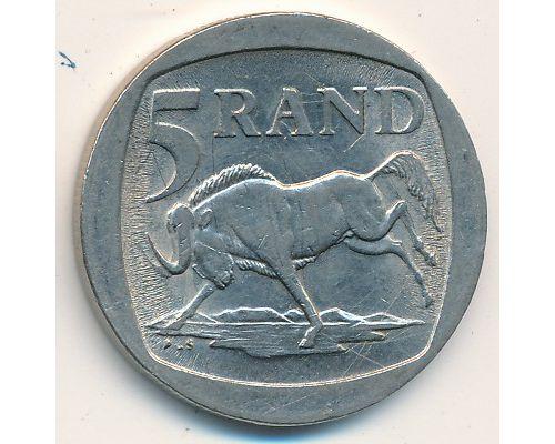 5 рэндов 1995 год ЮАР