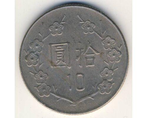 10 юаней 1984 год Тайвань