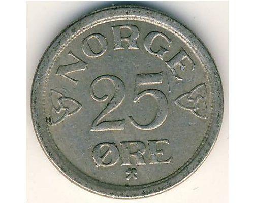 25 эре 1957 год Норвегия