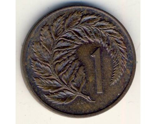 1 цент 1980 год Новая Зеландия