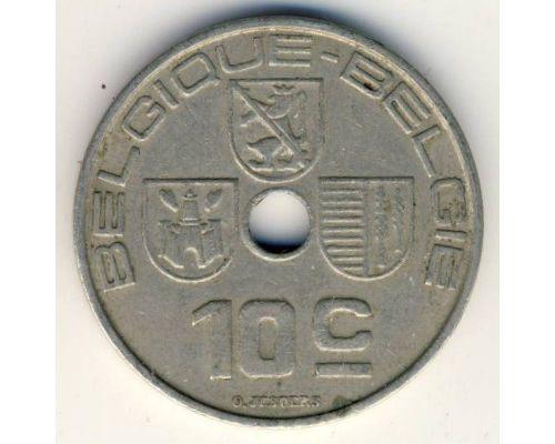 10 сентим 1938 год Бельгия  BELGIQUE-BELGIE