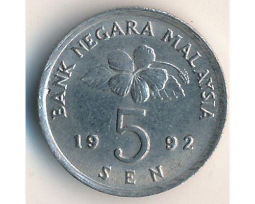 5 сен 1992 год Малайзия