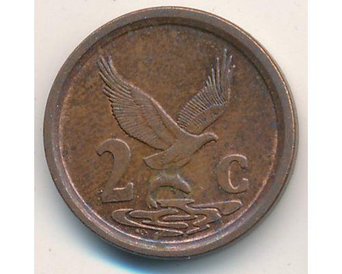 2 цента 1993 год ЮАР