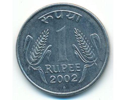1 рупия 2002 год Индия
