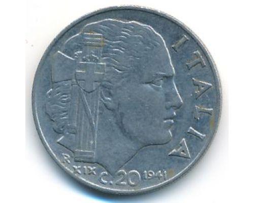 20 чентезимо 1941 год Италия