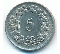 5 раппенов 1964 год Швейцария