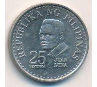 25 сентимо 1977 год Филиппины
