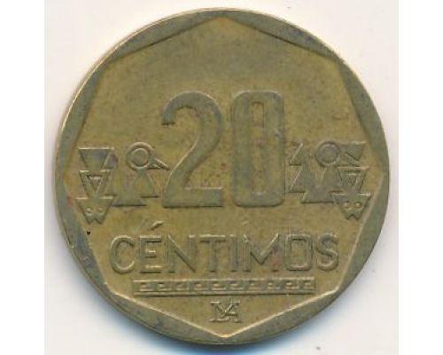 20 сентимо 2010 год Перу