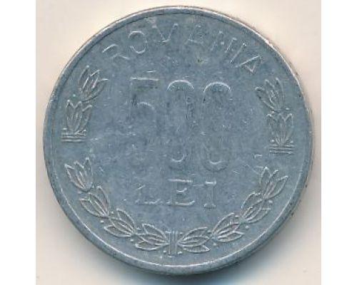 500 лей 1999 год Румыния
