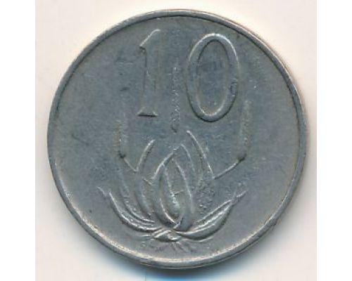 10 центов 1966 год ЮАР