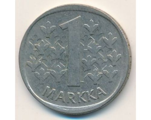 1 марка 1981 год Финляндия