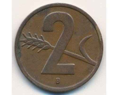2 раппена 1954 год Швейцария