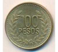 100 песо 2009 год Колумбия