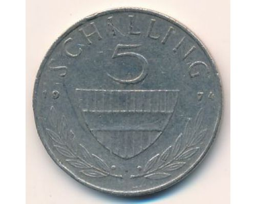 5 шиллингов 1974 год Австрия Всадник