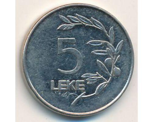 5 лек 2000 год Албания