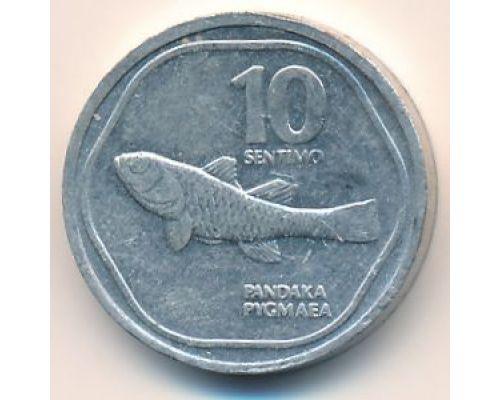 10 сентимо 1990 год Филиппины