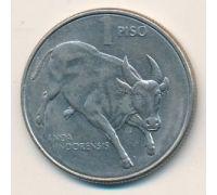 1 песо 1985 год Филиппины