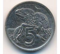 5 центов 1969 год Новая Зеландия