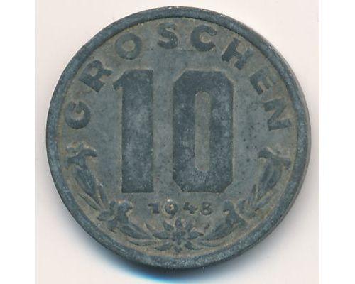 10 грош 1948 год Австрия