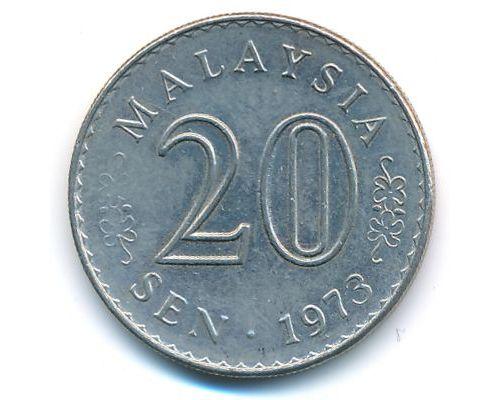 20 сен 1973 год Малайзия