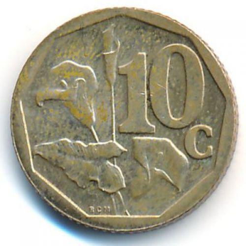 10 центов 2009 год ЮАР
